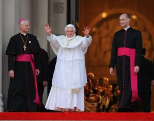 Pope Benedict XVI Visits the National Shrine